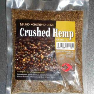 Crushed hemp