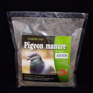 Pigeon manure